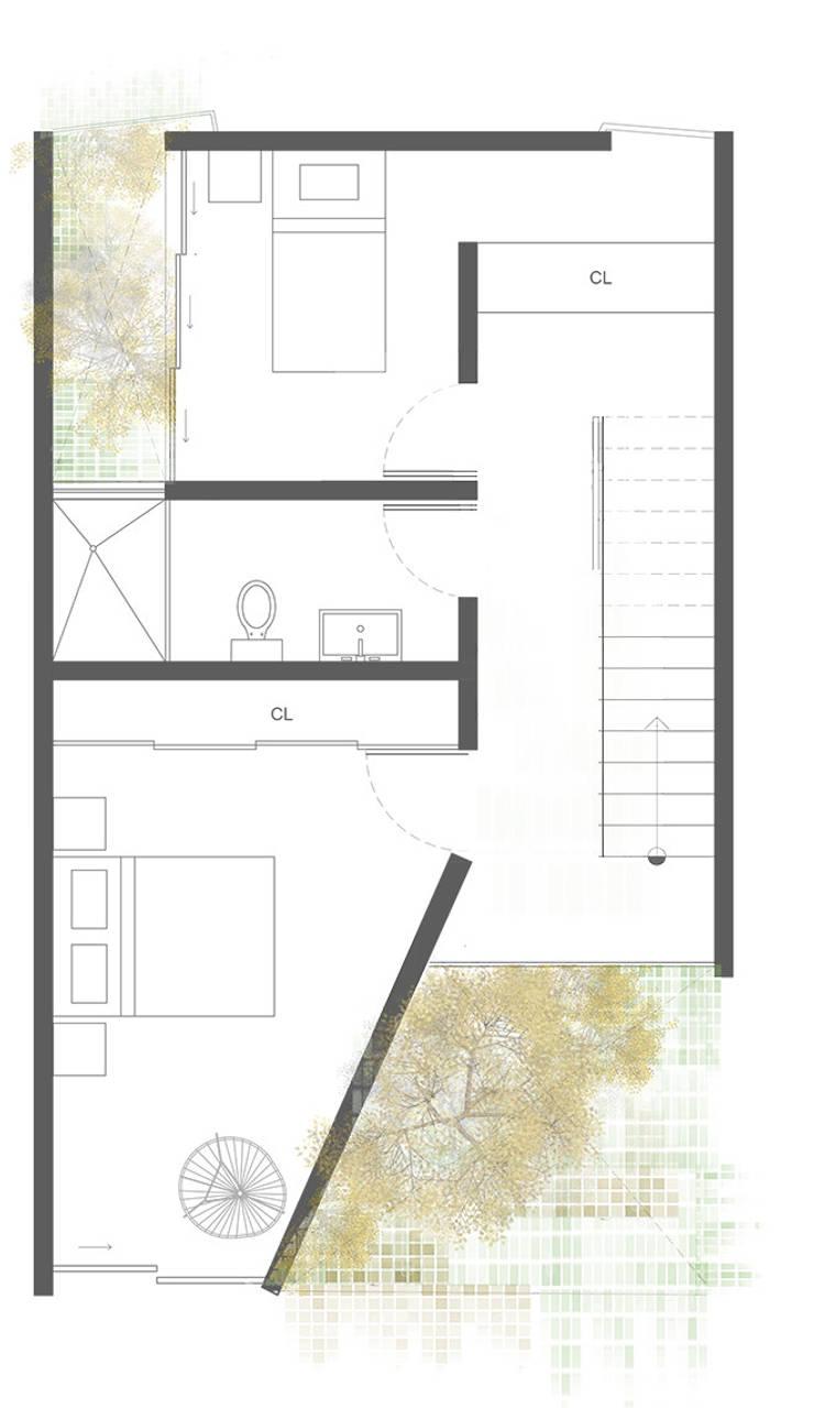 Planta 4:  de estilo  por Proyecto Cafeina