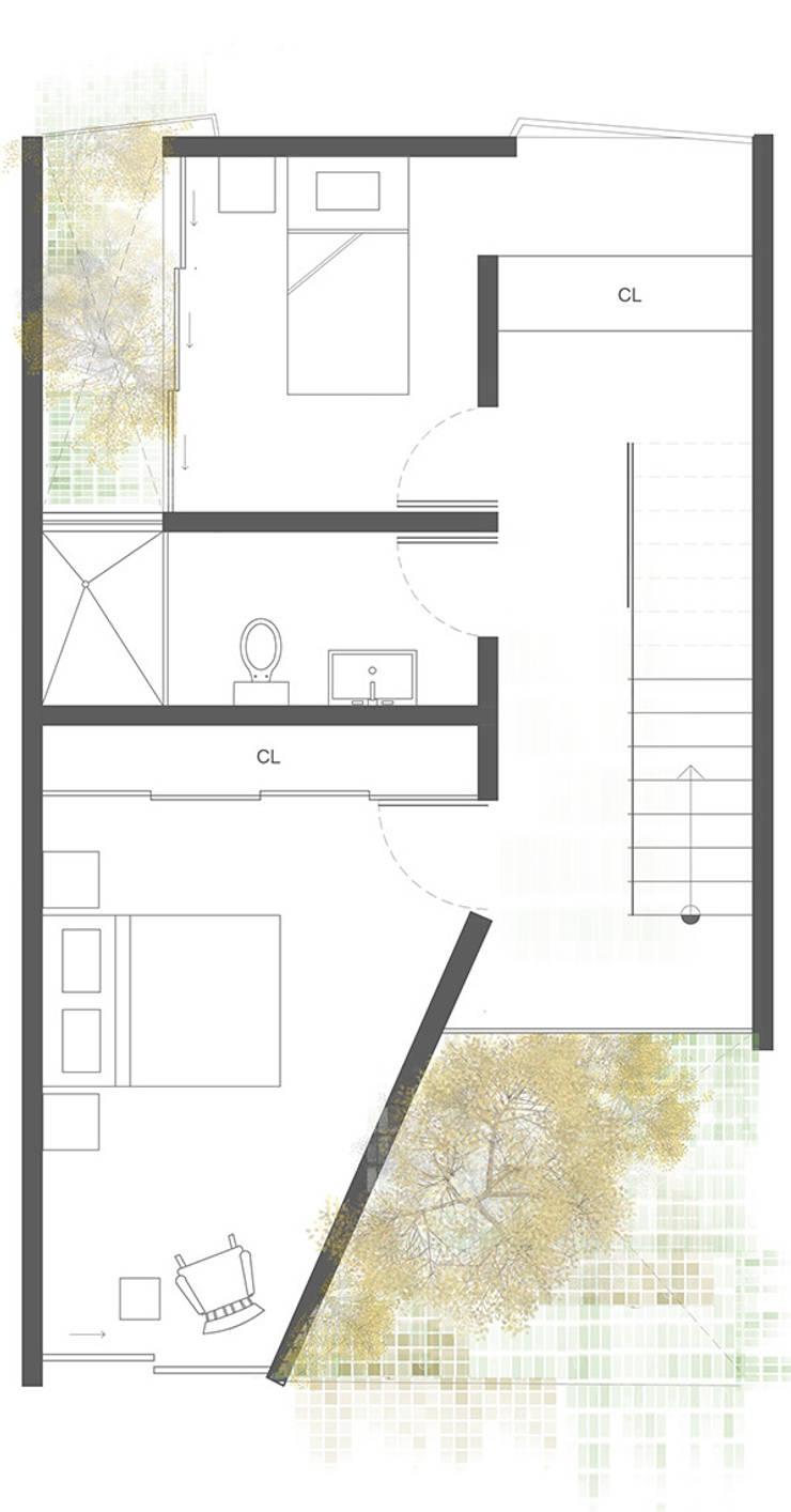 Planta 5:  de estilo  por Proyecto Cafeina