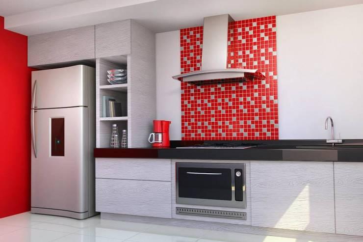 Projeto: Cozinhas  por Drika Passos Design