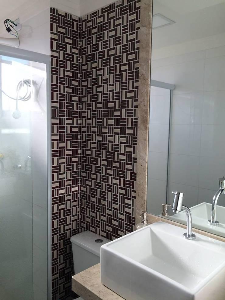 Projeto: Banheiros  por Drika Passos Design