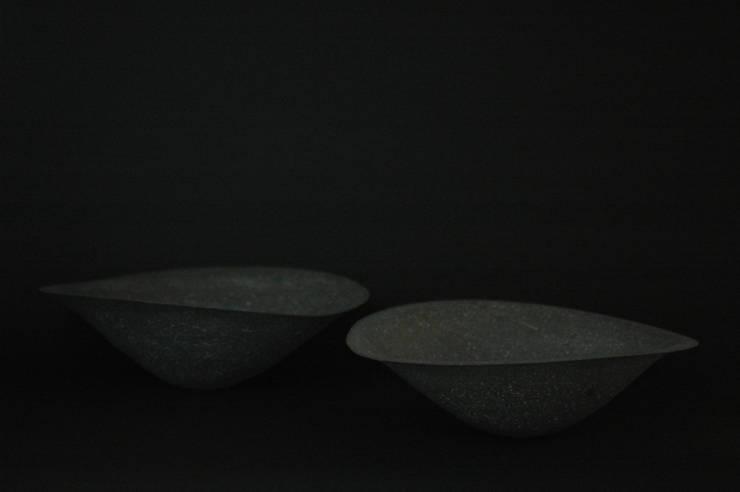 Stone ware bowl: 小野澤弘一が手掛けたキッチンです。