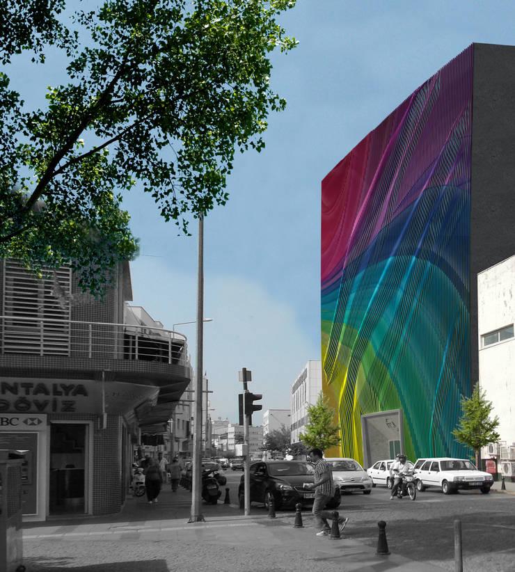 Yenilem Proje Danışmanlık T. A. Ş. – AKS Antalya Kültür Sanat Merkezi:  tarz