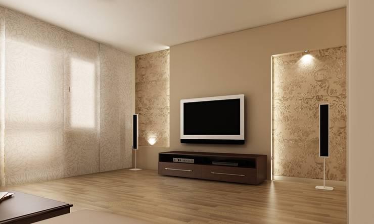 salon: styl , w kategorii  zaprojektowany przez ZAWICKA-ID Projektowanie wnętrz