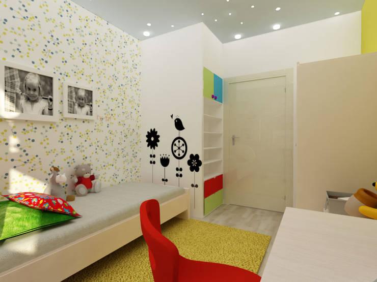 Pokój dziecięcy: styl , w kategorii Pokój dziecięcy zaprojektowany przez ZAWICKA-ID Projektowanie wnętrz