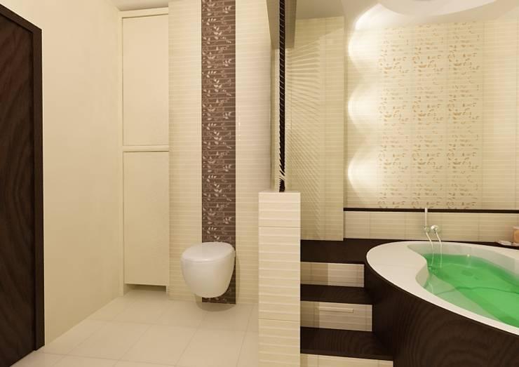 Łazienka orientalna: styl , w kategorii Łazienka zaprojektowany przez ZAWICKA-ID Projektowanie wnętrz
