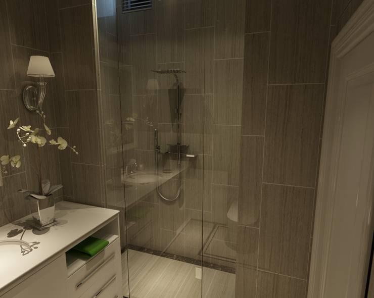 piramit3d – bulut inşaat-banyo : modern tarz Banyo