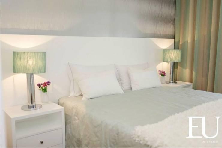 Suite Hóspedes: Quartos  por EU INTERIORES