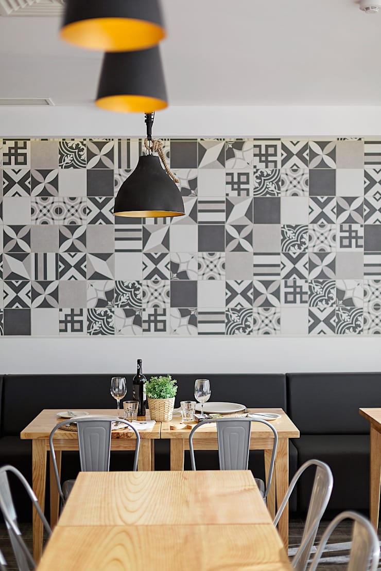Restaurante: Espaços de restauração  por EU INTERIORES