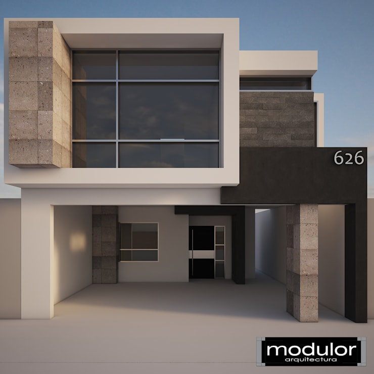 Houses by Modulor Arquitectura,