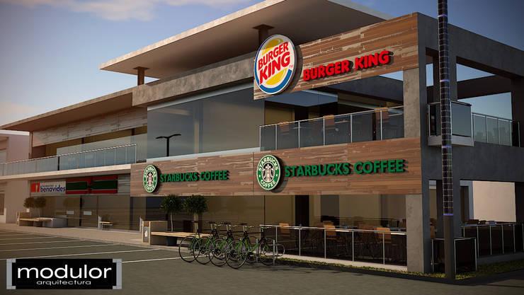 Centros comerciais  por Modulor Arquitectura