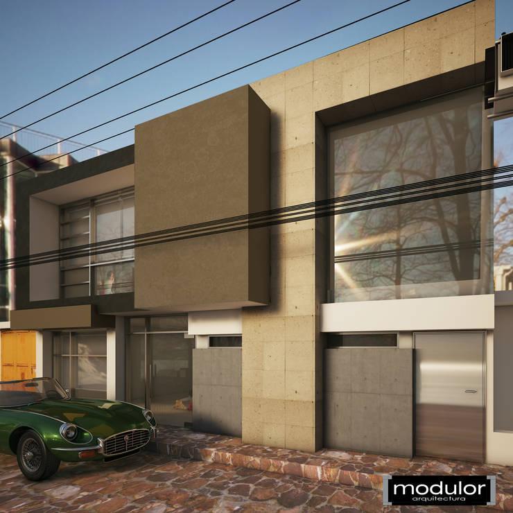 Salon de Fiestas: Salones para eventos de estilo  por Modulor Arquitectura