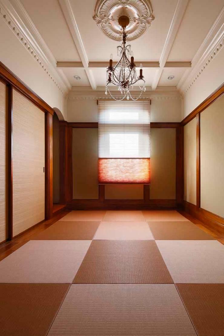 YO house | SANKAIDO: SANKAIDO | 株式会社 参會堂が手掛けた和室です。,地中海