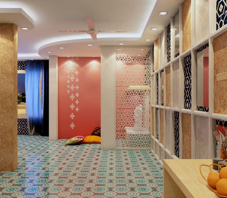 Open Space:   by Creazione Interiors