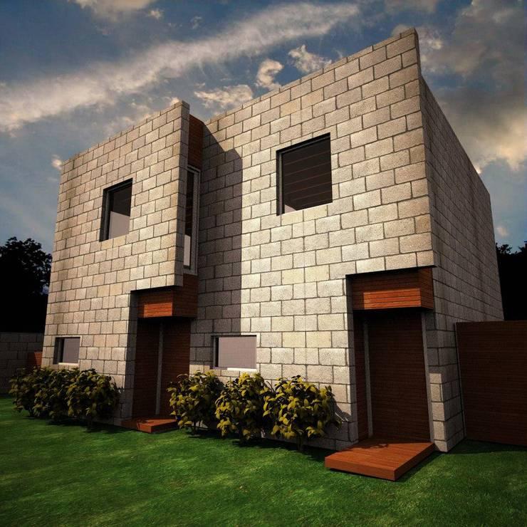 Frente de AHA! Arquitectura