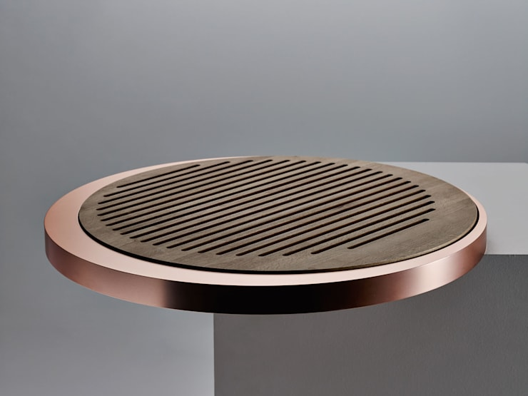Circular Trays de Alessandro Isola Ltd Minimalista