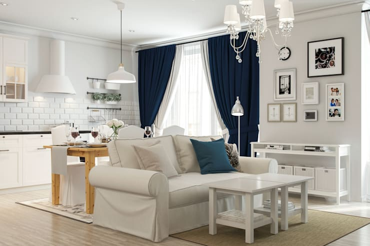 modern Living room by Artur Akopov