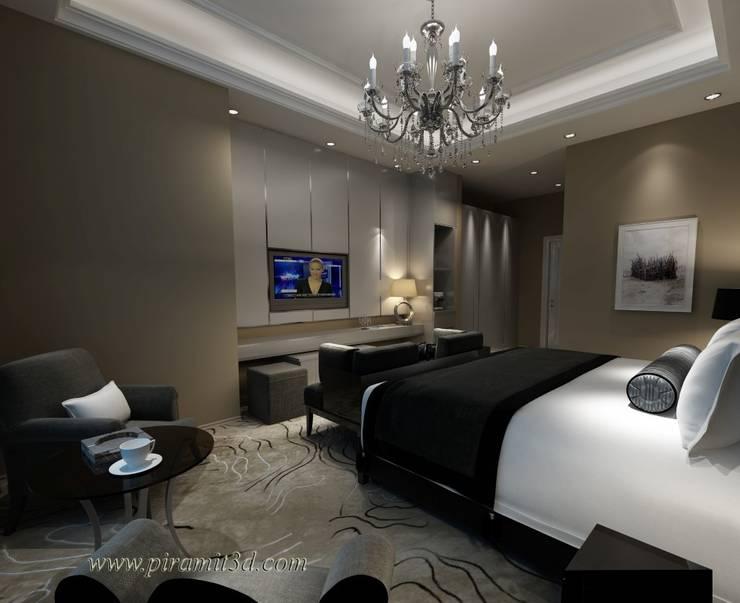 piramit3d – ceylan_karavil_otel_odası:  tarz Yatak Odası