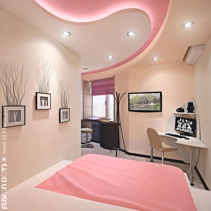 Спальня: Спальни в . Автор – Fusion Dots
