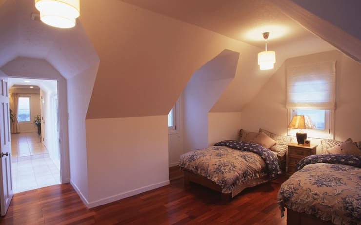MA house | SANKAIDO モダンスタイルの寝室 の SANKAIDO | 株式会社 参會堂 モダン