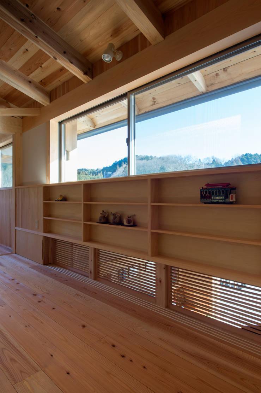 ツイノスミカ~うちの山の木: 大森建築設計室が手掛けた和室です。,