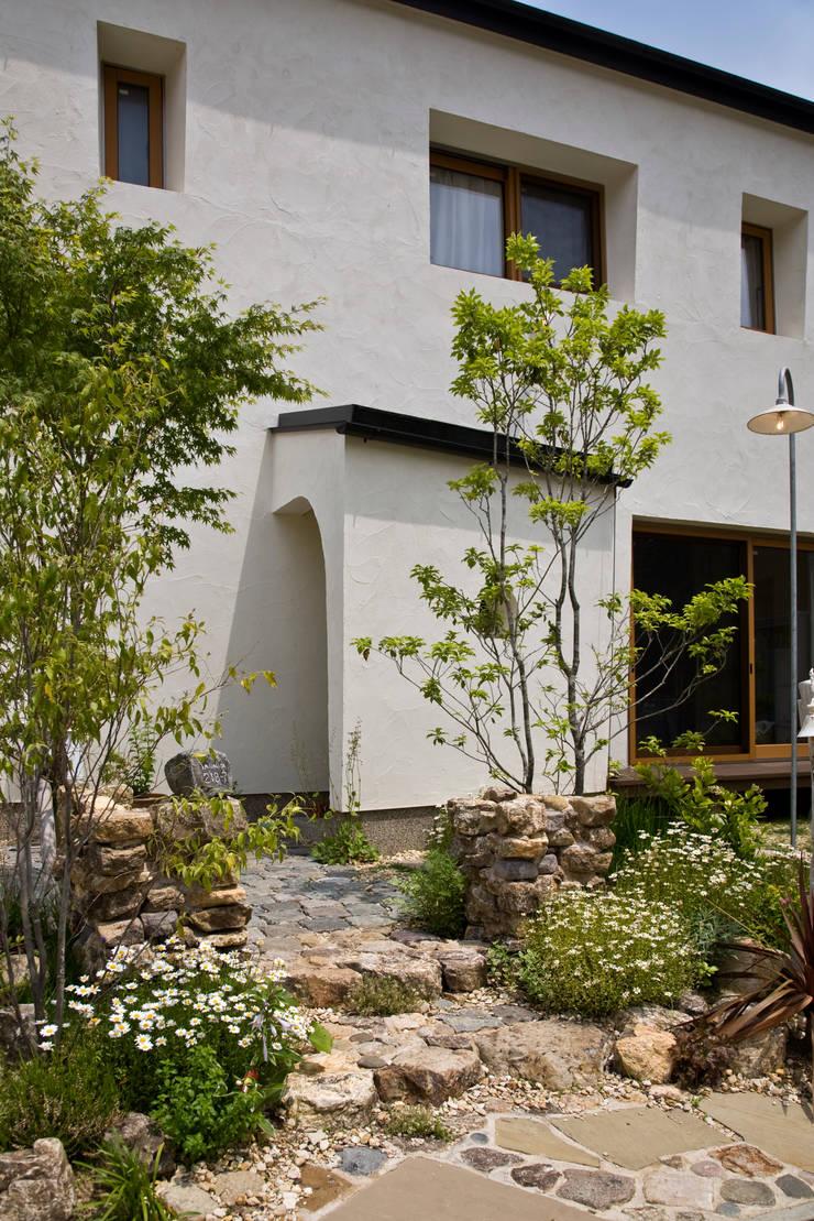 マッシュルーム・ハウス: 大森建築設計室が手掛けた家です。
