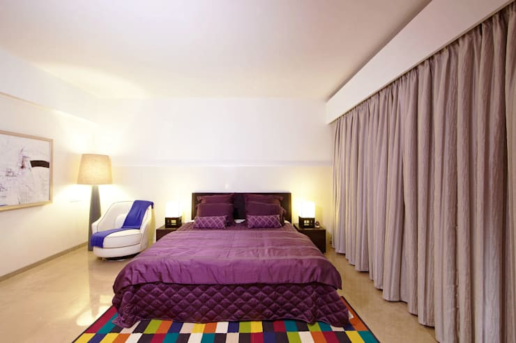 ABIL Experience Center - Castle Royale T4: modern Bedroom by Aijaz Hakim Architect [AHA]