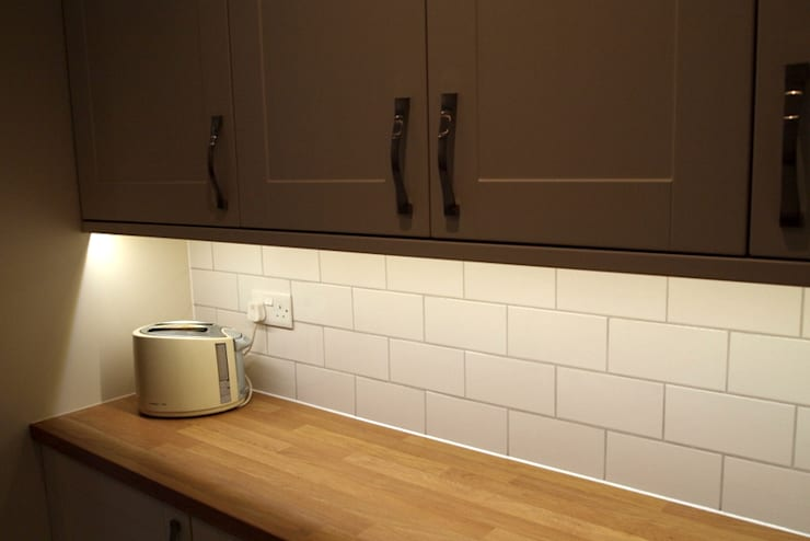 Single Storey Extension Butler Road Harrow:  Kitchen by London Building Renovation