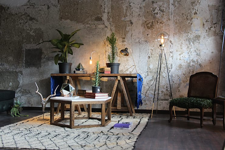 Showroom: Salas de estilo moderno por The Blue House