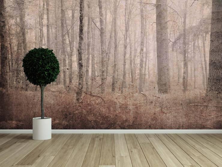 HF054-Landscape: Salas de estar  por House Frame Wallpaper & Fabrics