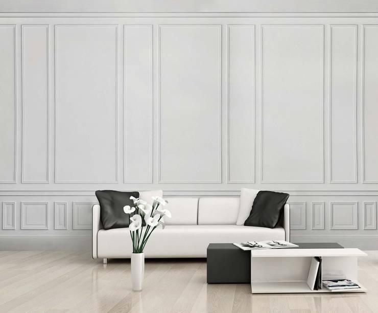 HF055-Parget: Salas de estar  por House Frame Wallpaper & Fabrics