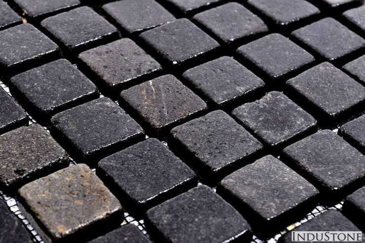 Mozaika kamienna: styl , w kategorii  zaprojektowany przez Industone.pl,Industrialny