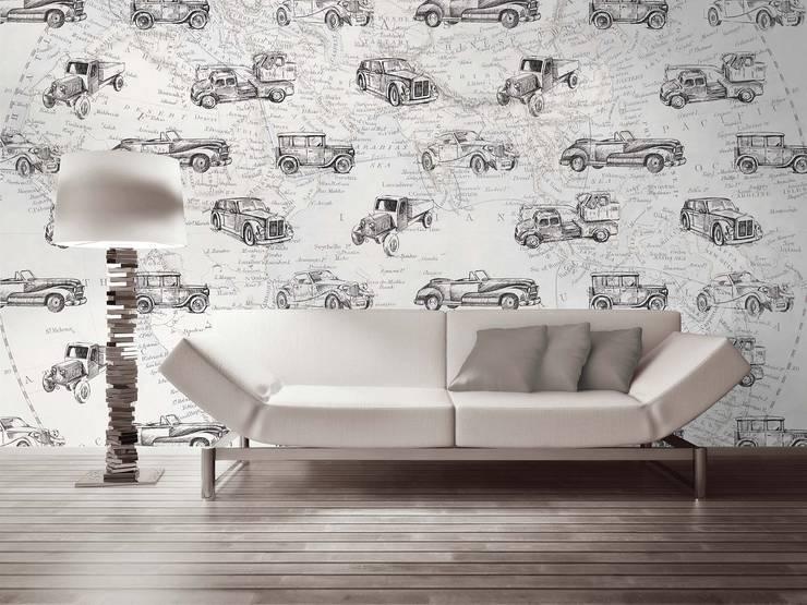HF058-Travel Around the World: Salas de jantar  por House Frame Wallpaper & Fabrics