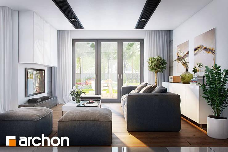 Stolik Arctic: styl , w kategorii Salon zaprojektowany przez ArchonHome.pl