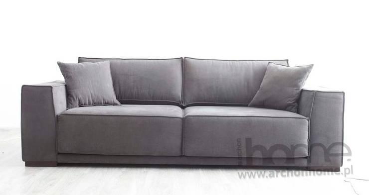 Sofa Victor: styl , w kategorii Salon zaprojektowany przez ArchonHome.pl