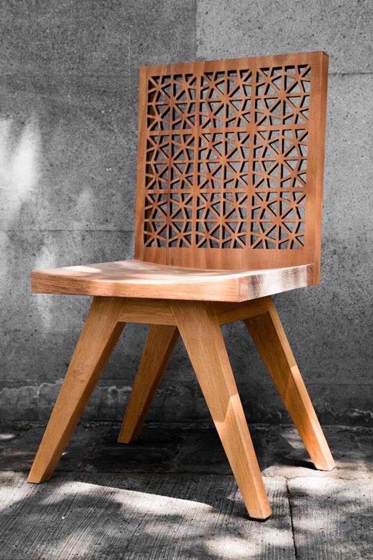 Kaleido: Salas de estilo  por Muebles NueveDos