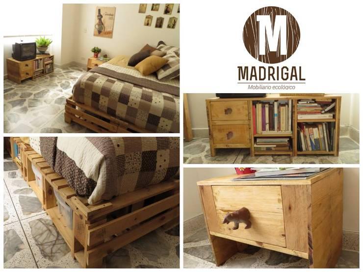 Muebles hechos a mano: Dormitorios de estilo  por La Madriguera