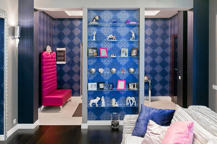 modern Living room by Designer Olga Aysina