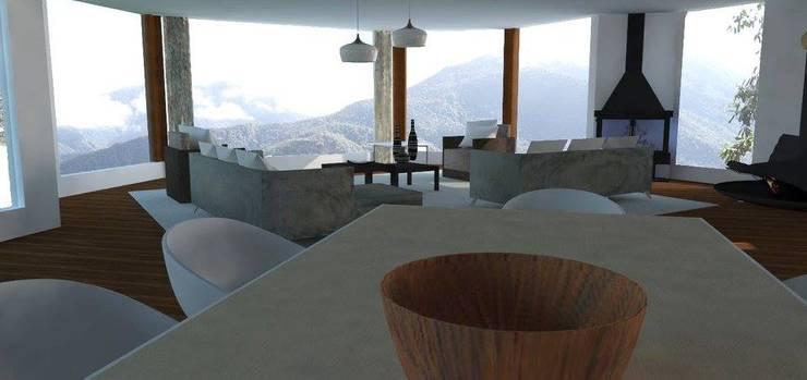 Living room by Trianaarquitectos