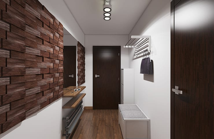 Pasillos, vestíbulos y escaleras industriales de Creoline Industrial