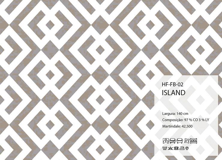 HF-FB-02-ISLAND: Arte  por House Frame Wallpaper & Fabrics