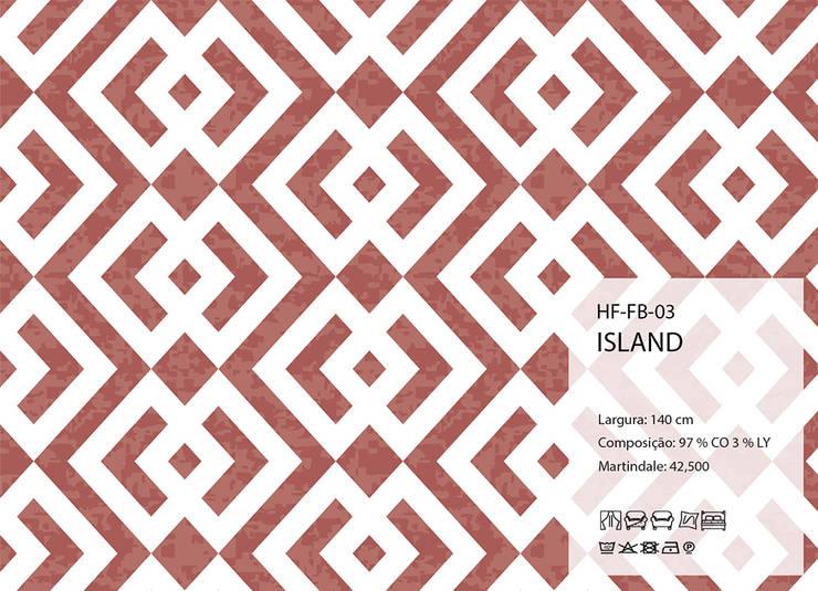 HF-FB-03-ISLAND: Arte  por House Frame Wallpaper & Fabrics