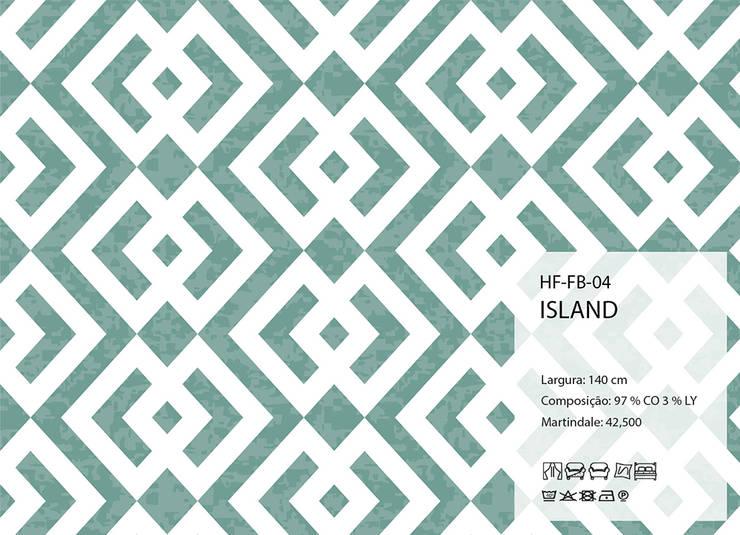 HF-FB-04-ISLAND: Arte  por House Frame Wallpaper & Fabrics