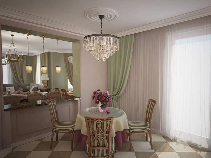 غرفة السفرة تنفيذ Designer Olga Aysina