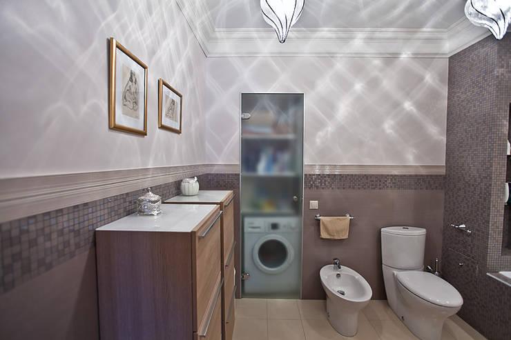 ул. Колпакова г.Мытищи: Ванные комнаты в . Автор – Designer Olga Aysina