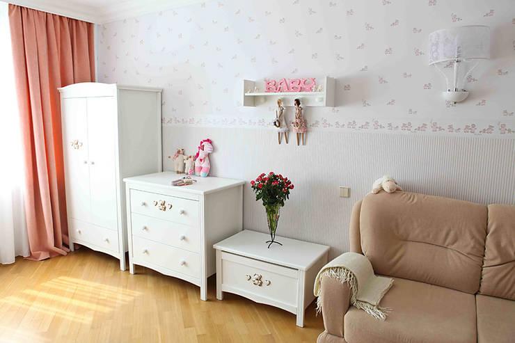 غرفة الاطفال تنفيذ Designer Olga Aysina