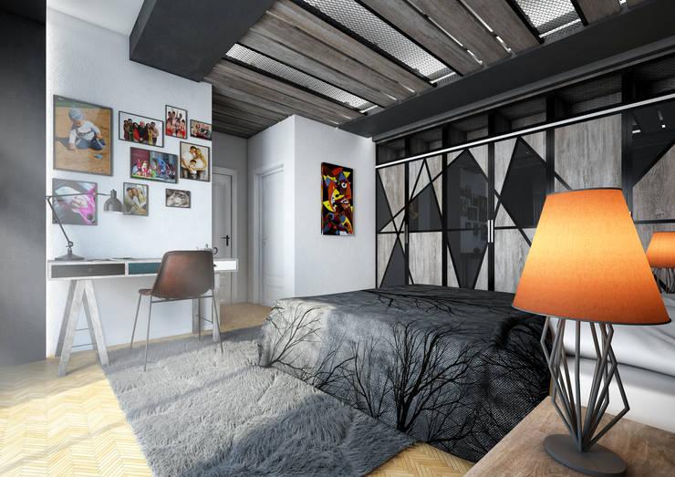 Point Dizayn – Yatak Odası :  tarz Yatak Odası