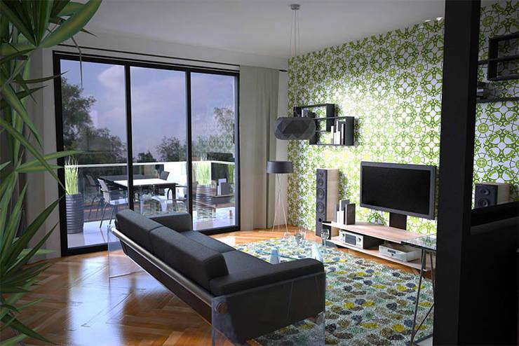 projection virtuelle salon:  de style  par AD2