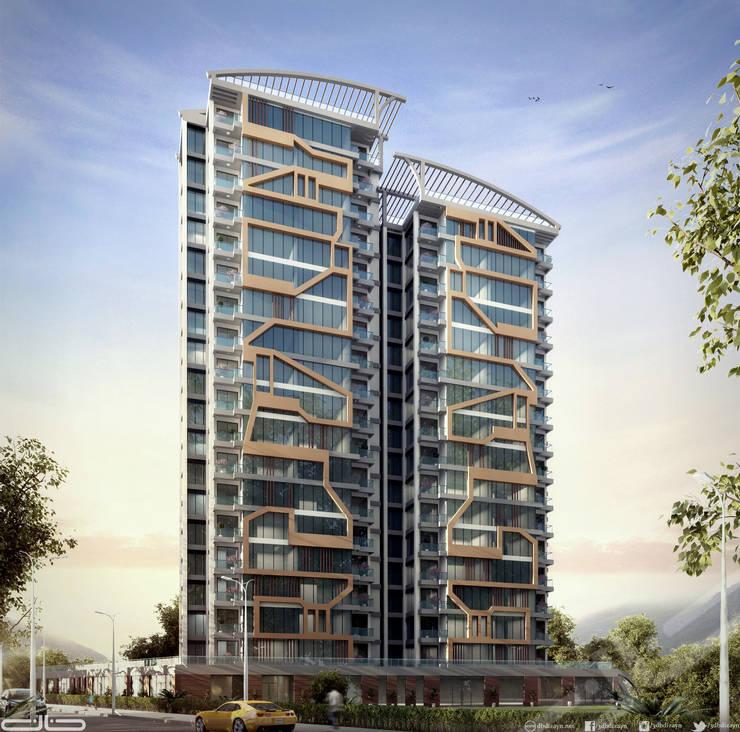 db dizayn – Golden Towers:  tarz Ofisler ve Mağazalar