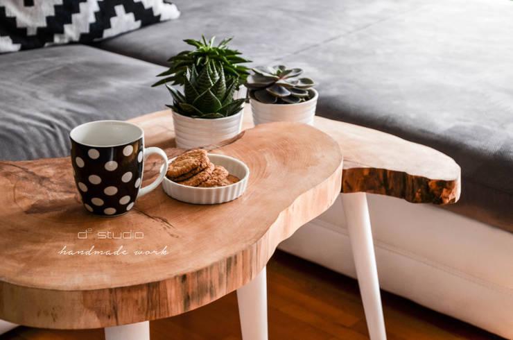 Coffee Table Moon BIG / Stoliki kawowe Moon BIG: styl , w kategorii Salon zaprojektowany przez D2 Studio