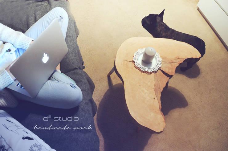 Coffee Table Moon BIG / Stoliki kawowe Moon small: styl , w kategorii Salon zaprojektowany przez D2 Studio